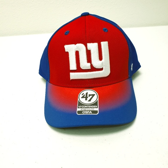 New York Giants 47 Brand Contender Stretch Fit Hat Nwt